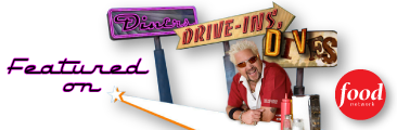Featured on Diners Drive-Ins and Dives